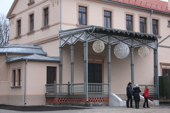 Aurelijos Kripaitės/15min.lt nuotr./Publikai atsivėrė Palangos kurhauzas