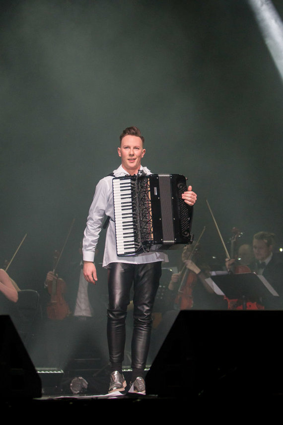 Mato Baranausko nuotr./Martyno Levickio koncertas Klaipėdoje