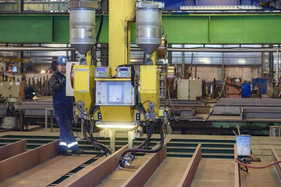 VLG nuotr./Vakarų laivų gamykla švenčia 50 metų jubiliejų: įmonės gyvenimo akimirkos