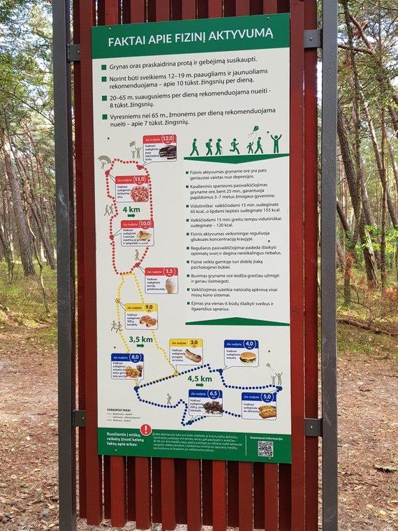 J. Andriejauskaitės / 15min nuotr./Pajūrio regioninis parkas kviečia pasivaikščioti takais.