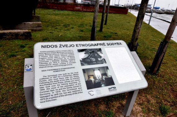 Neringos savivaldybės nuotr./Nidos etnografinė žvejo sodyba