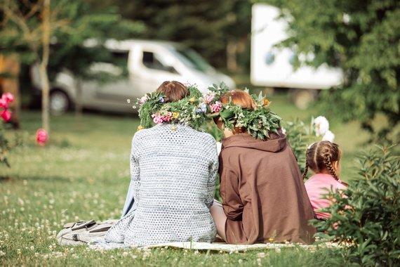 Etnokultūros centro nuotr./Joninių Klaipėdoje akimirkos