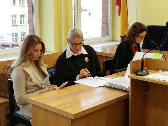 J.Andriejauskaitės/15min.lt nuotr./Teisme toliau narpliojama skiepų istorija.