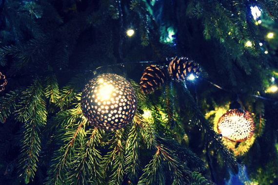 Neringos savivaldybės nuotr./Neringos Šv.Kalėdų eglė.