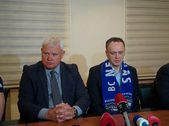 J. Andriejauskaitės / 15min nuotr./Naujasis klubo savininkas Sigitas Ambrazevičius.