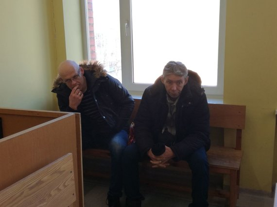 J. Andriejauskaitės / 15min nuotr./Linvydas Čižauskas ir Sergei Babich sulaukė griežtų teismo bausmių.