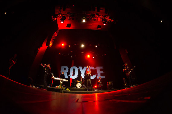 "R.Šeškaičio nuotr./Grupės ""Royce"" koncerto akimirkos"