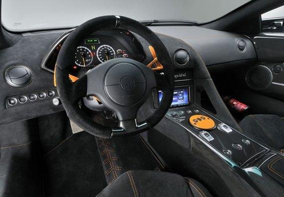 "Gamintojo nuotr./""Lamborghini Murcielago LP 670-4 SuperVeloce"""