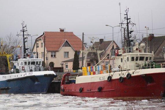 J.Andriejauskaitės/15min.lt nuotr./Žvejybiniai laivai