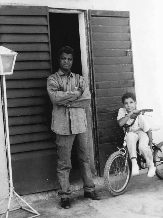 Asmeninio albumo nuotr./Viktoro Diawaros tėtis, rašytojas Gaoussou Diawara