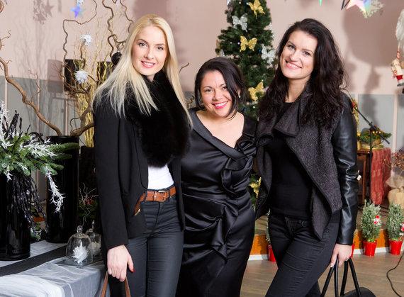 Asmeninio albumo nuotr./Kristina Ivanova, Inesa Borkovska ir Emilija Katauskaitė