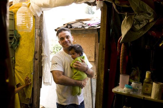 UNICEF nuotr./Robbie Williamsas
