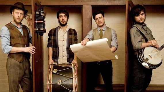 """Organizatorių nuotr./""""Mumford & Sons"""""""