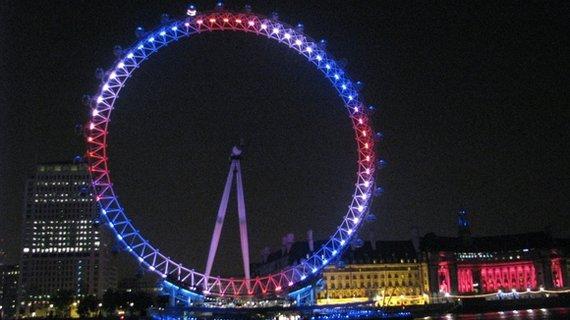 """Karinos Ziminaitės nuotr./Londono apžvalgos ratas """"Londono akis"""""""
