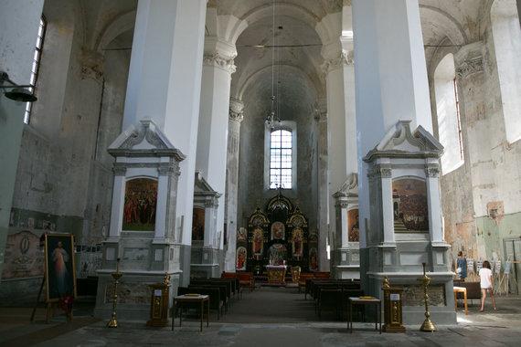 Juliaus Kalinsko / 15min nuotr./Švč. Trejybės (Unitų) bažnyčia – Šv. Juozapato paveikslas
