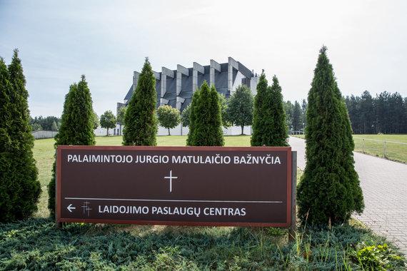 Juliaus Kalinsko / 15min nuotr./Pal.Jurgio Matulaičio bažnyčia