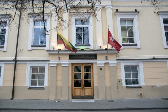 Juliaus Kalinsko / 15min nuotr./Prie Švietimo ir mokslo ministerijos