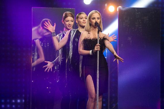 """Juliaus Kalinsko / 15min nuotr./Nacionalinės """"Eurovizijos"""" atrankos akimirkos"""