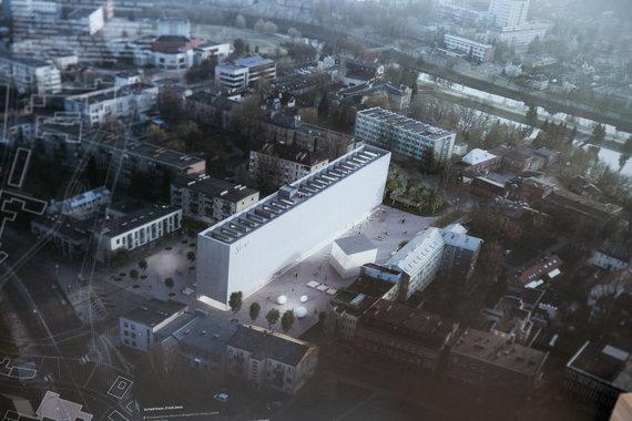 Juliaus Kalinsko / 15min nuotr./Stasio Eidrigevičiaus menų centro projektas
