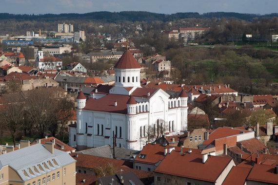 Juliaus Kalinsko / 15min nuotr./Vilnius iš aukštai