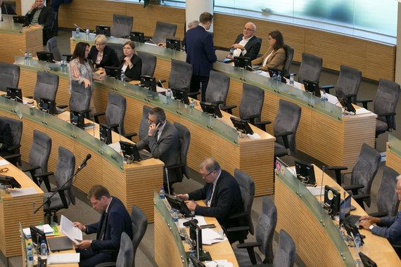 Juliaus Kalinsko / 15min nuotr./Seimo posėdis