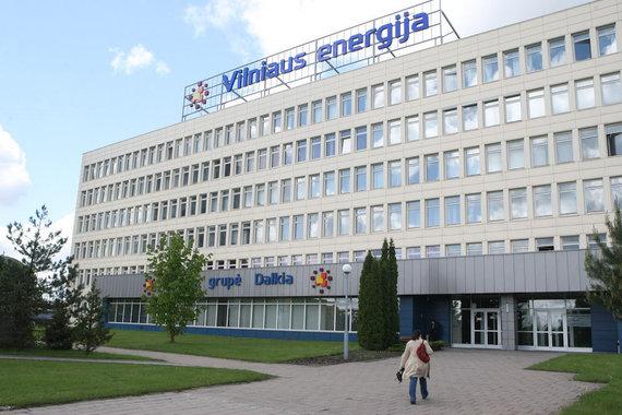 """Juliaus Kalinsko/15min.lt nuotr./""""Vilniaus energija"""""""