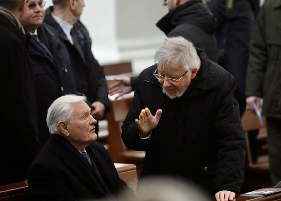 Juliaus Kalinsko / 15min nuotr./Valdas Adamkus ir Vytautas Landsbergis