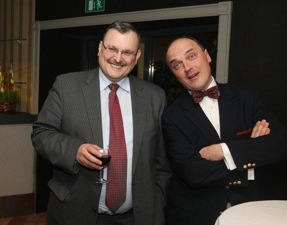 Kęstutis Daukšys ir Giedrius Drukteinis