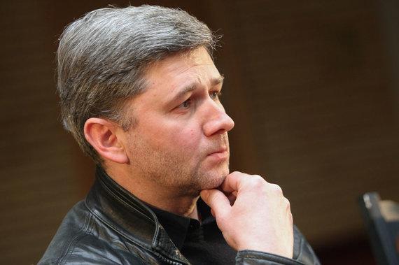 Juliaus Kalinsko/15min.lt nuotr./Lietuvos nacionalinio dramos teatro meno vadovas Audronis Liuga