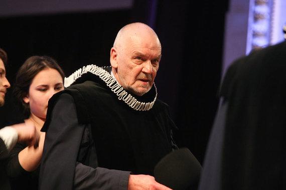 Juliaus Kalinsko / 15min nuotr./Režisierius Eimuntas Nekrošius