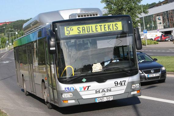 Juliaus Kalinsko / 15min nuotr./Greitasis autobusas