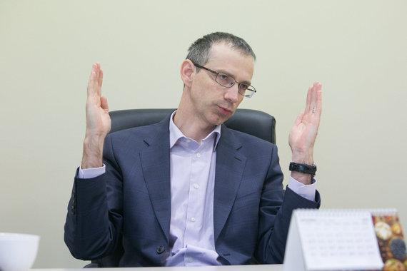 """Juliaus Kalinsko/15min.lt nuotr./""""Maxima"""" Korporatyvinių reikalų direktorius Aivaras Slivanas"""