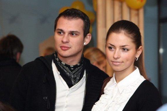 Algimantas Minalga-Soliaris ir Eglė Štandtaitė