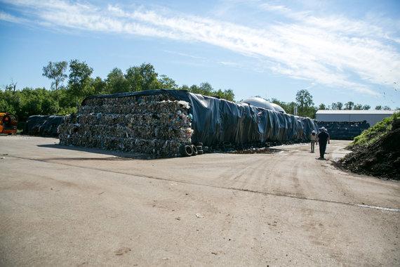 Juliaus Kalinsko / 15min nuotr./Utenos atliekų rūšiavimo gamykla