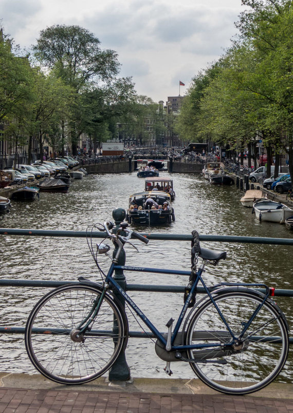 Juliaus Kalinsko / 15min nuotr./Amsterdame