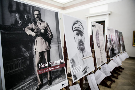 Juliaus Kalinsko / 15min nuotr./Konferencija apie Juzefą Pilsudskį