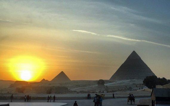 Juliaus Kalinsko / 15min nuotr./Atostogų Egipte akimirka