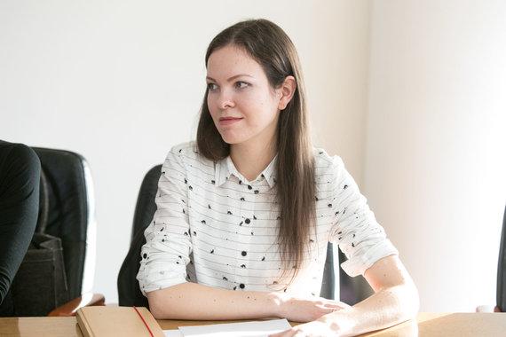 Juliaus Kalinsko / 15min nuotr./Interjero dizainerė Lina Klios