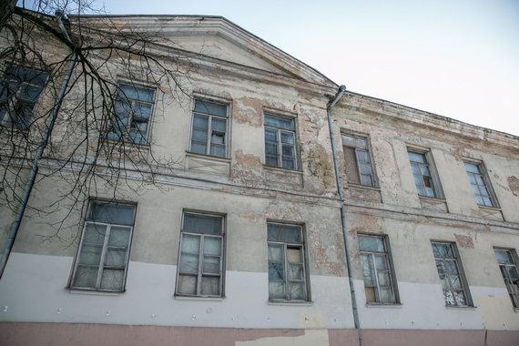 Juliaus Kalinsko / 15min nuotr./Buvusi Šv. Jokūbo ligoninės teritorija