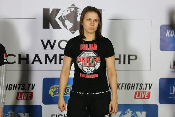 Juliaus Kalinsko / 15min nuotr./Bušido turnyro svėrimai