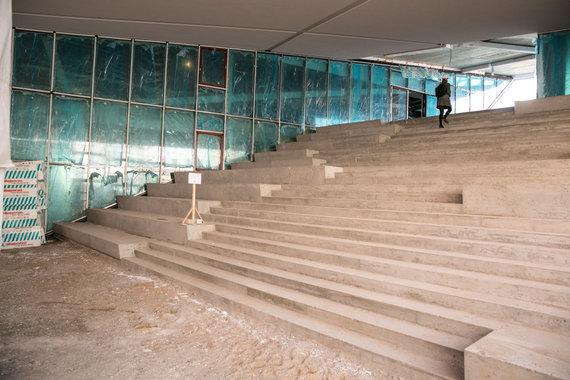 Juliaus Kalinsko / 15min nuotr./Baigiamas statyti MO muziejus