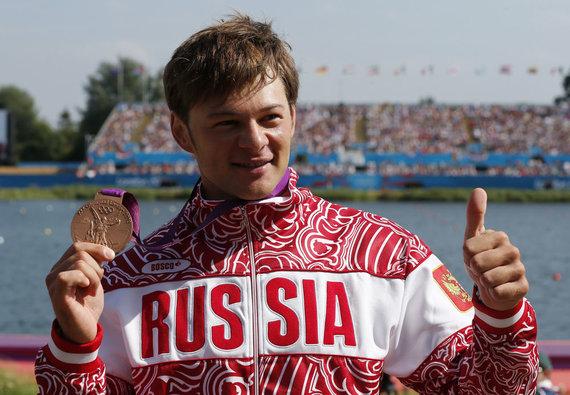 """""""Reuters""""/""""Scanpix"""" nuotr./Bronzos medalininkas rusas Ivanas Štylius"""