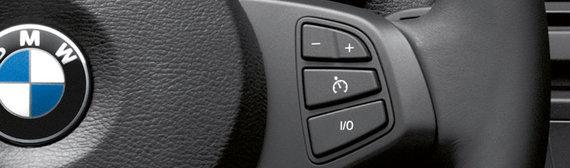Gamintojo nuotr./Automatinė greičio palaikymo sistema BMW automobilyje