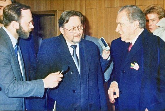 Asmeninio archyvo nuotr./Vytautas Landsbergis