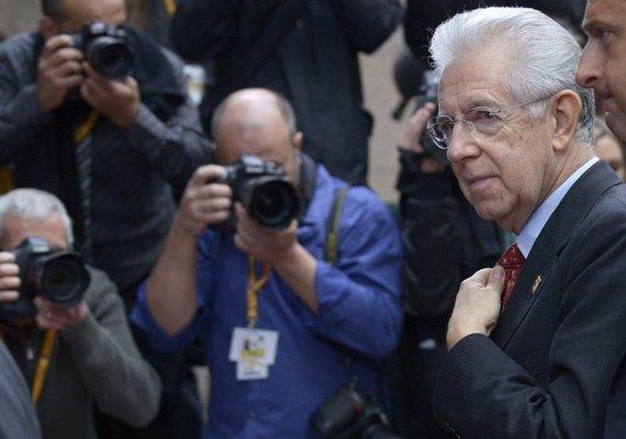 Reuters / Photo by Scanpix / Italian Prime Minister Mario Monti