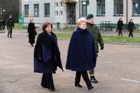 Alfredo Pliadžio nuotr./Rasa Juknevičienė, Dalia Grybauskaitė ir Arvydas Pocius