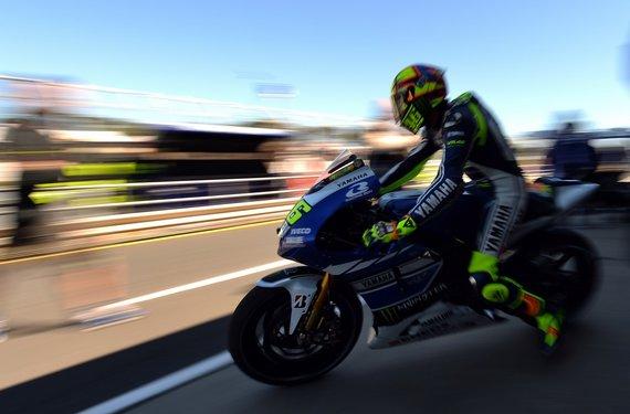 "AFP/""Scanpix"" nuotr./Valentino Rossi"