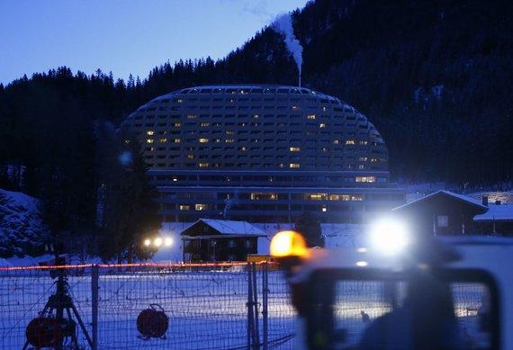 """""""Reuters""""/""""Scanpix"""" nuotr./Viešbuts Davose"""
