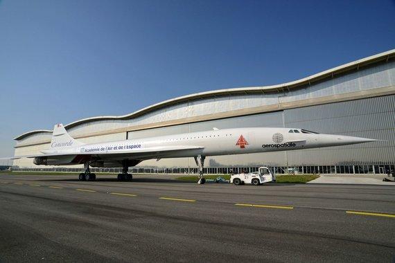 "AFP/""Scanpix"" nuotr./""Concorde MSN1"" viršgarsinis lėktuvas"