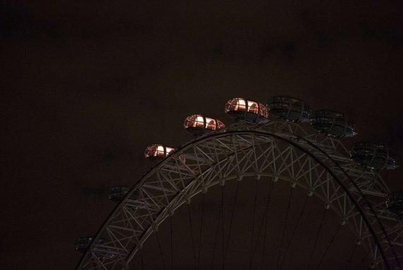"""AFP/""""Scanpix"""" nuotr./Apžvalgos ratas – Londono akis"""